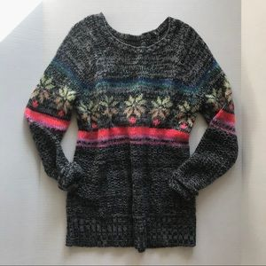 American Eagle Outfitters (AEO) Rainbow Sweater